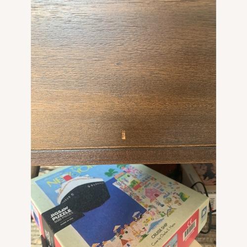 Used AllModern Dark Wood Coffee Table for sale on AptDeco