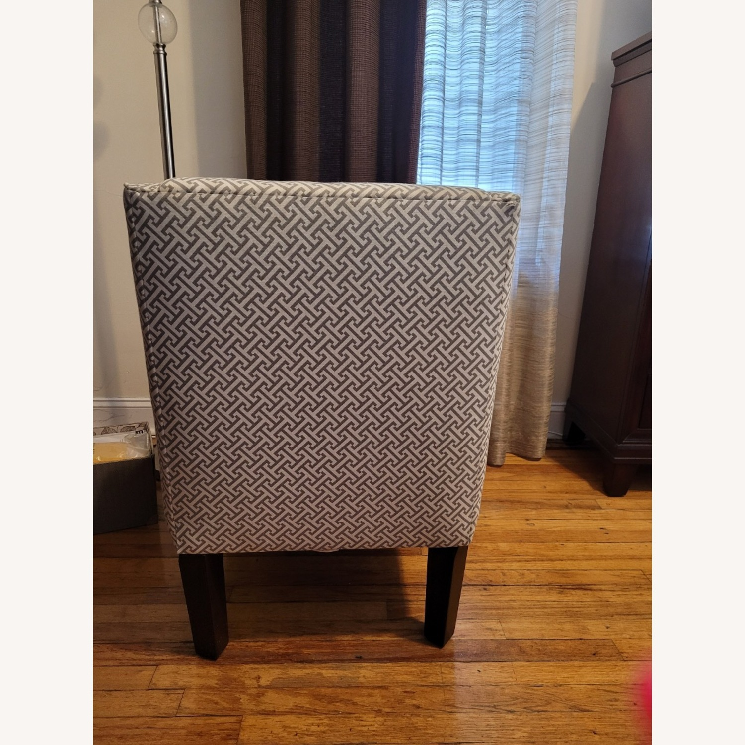 Macy's Beige and white Accent Chair - image-3