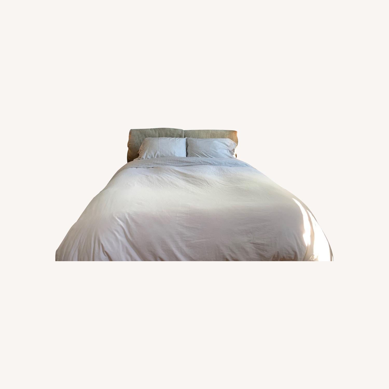 Flou Nathalie Queen Bed - image-0