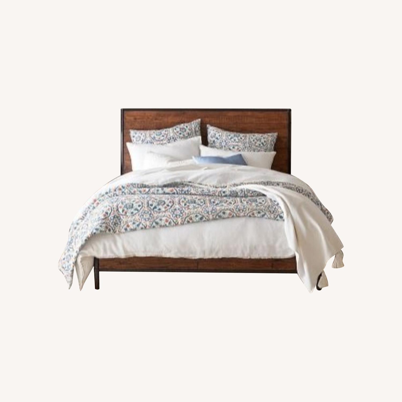 Pottery Barn Juno Queen Bed - image-0