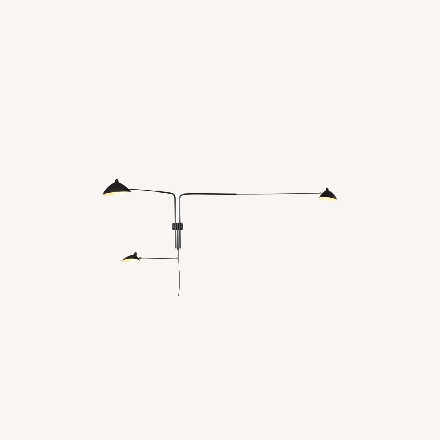 Midcentury Modern Rotating Wall Sconce - image-0