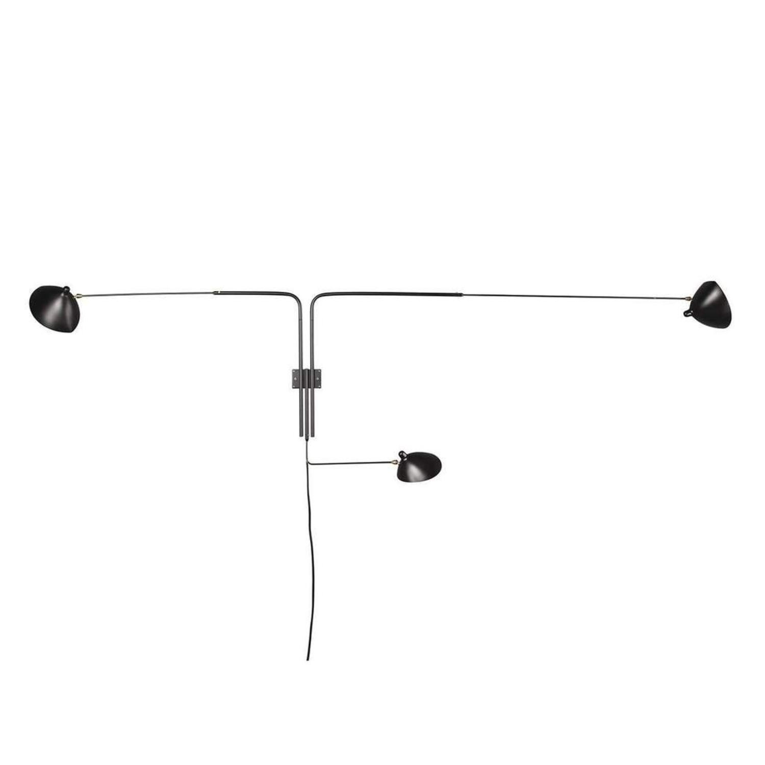 Midcentury Modern Rotating Wall Sconce - image-3