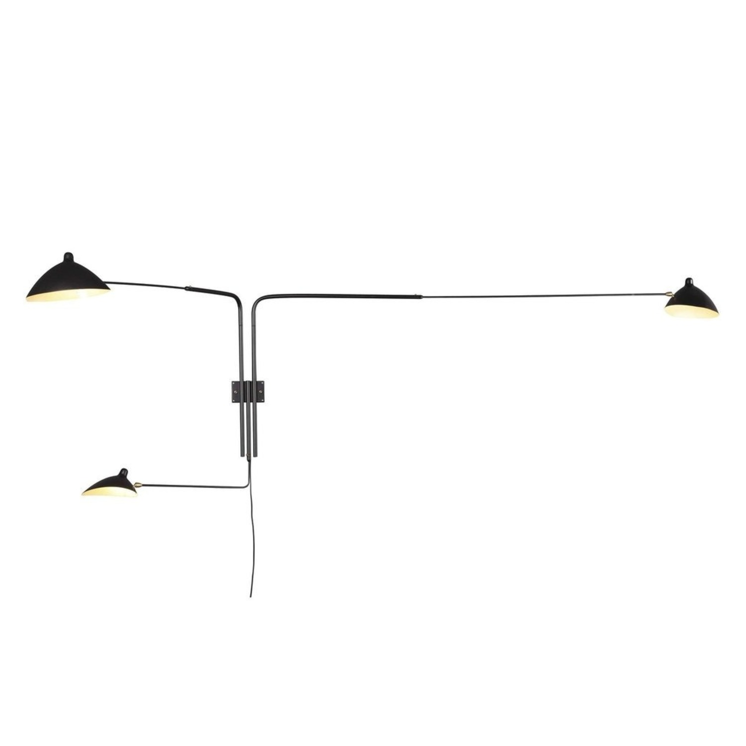 Midcentury Modern Rotating Wall Sconce - image-1