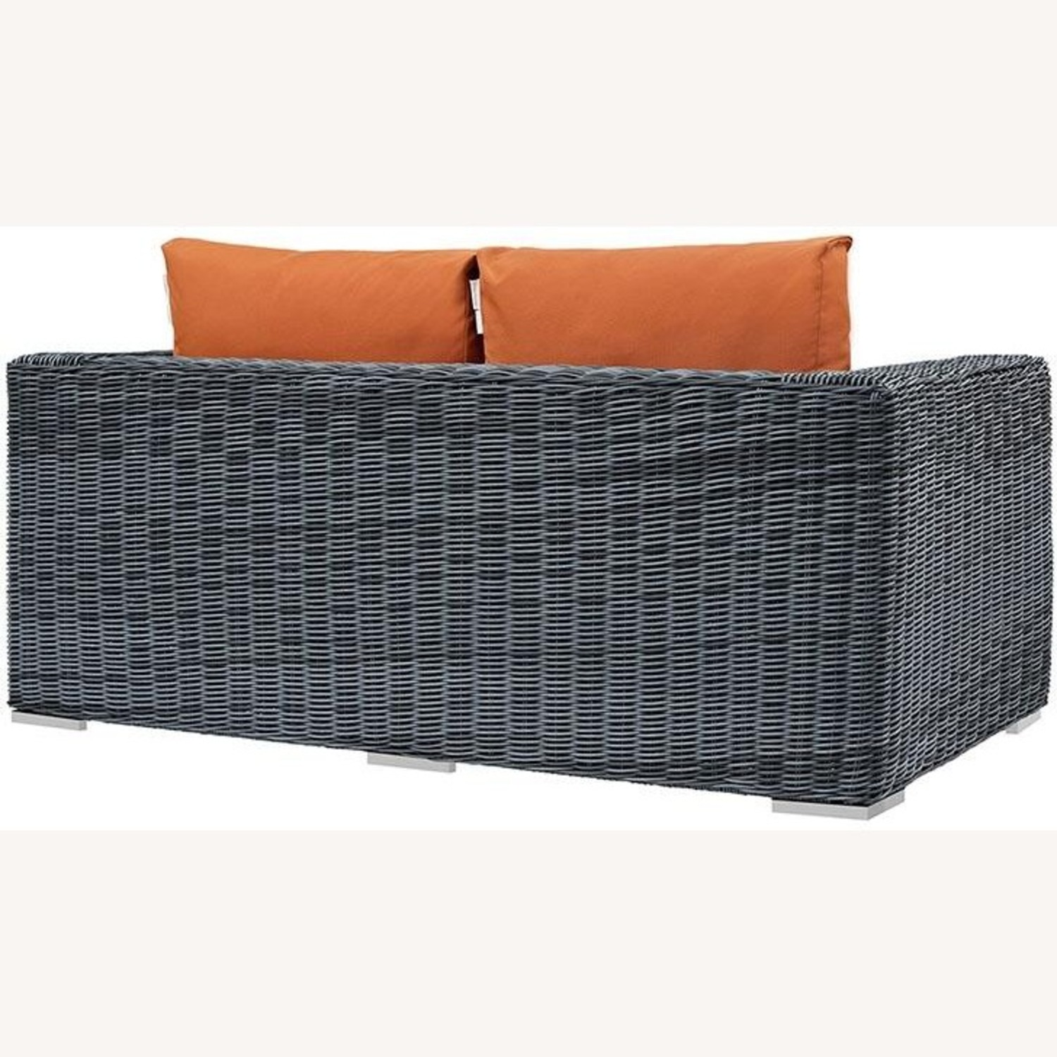 Outdoor Loveseat W/ Tuscan Cushion Fabric - image-2