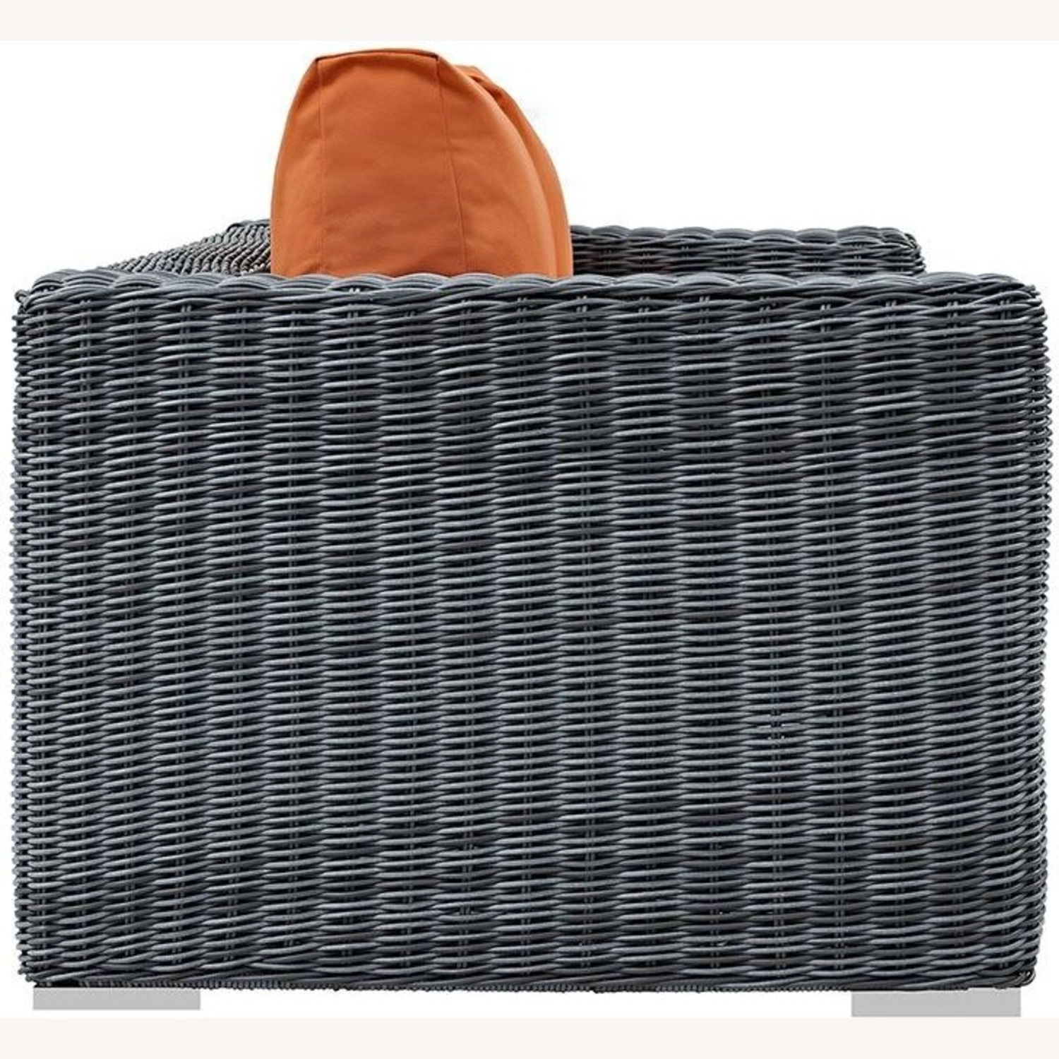 Outdoor Loveseat W/ Tuscan Cushion Fabric - image-3
