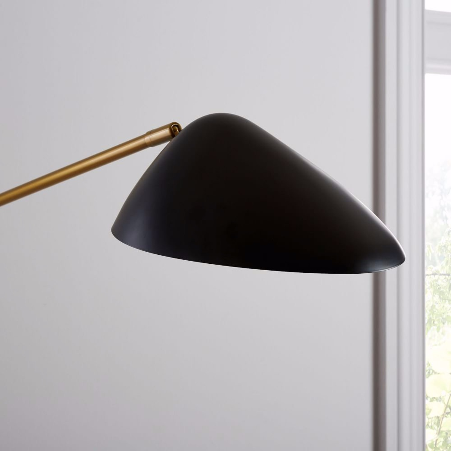 West Elm Wall Lamp - image-3