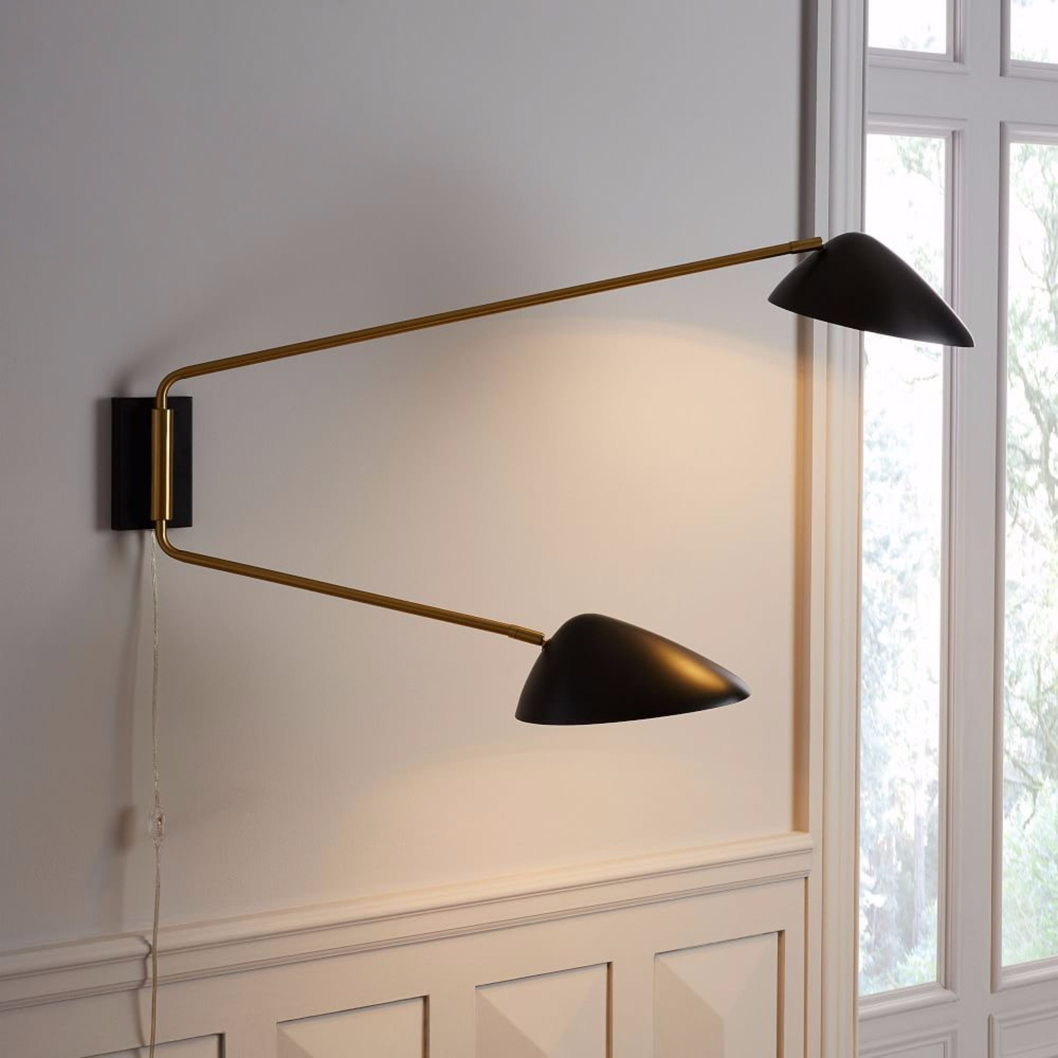 West Elm Wall Lamp - image-2