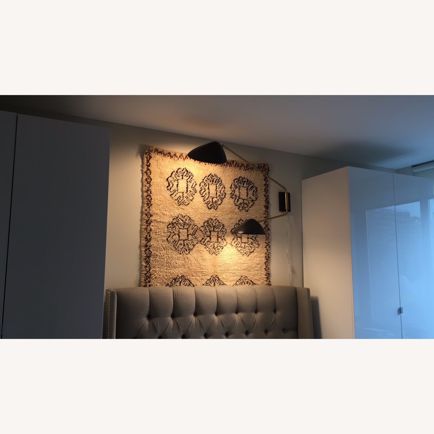West Elm Wall Lamp - image-1