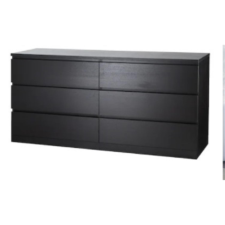 IKEA Elegant Modern Black Dresser - image-7