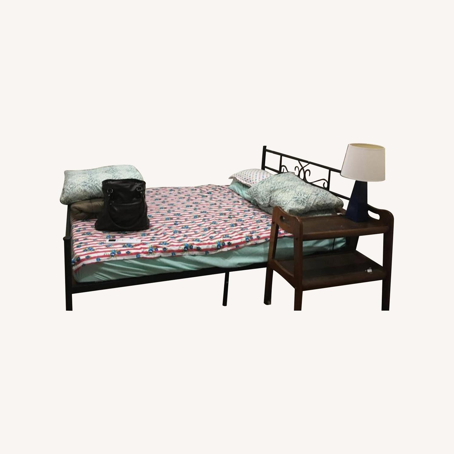 SimLife Full Size Metal Bed Frame - image-0