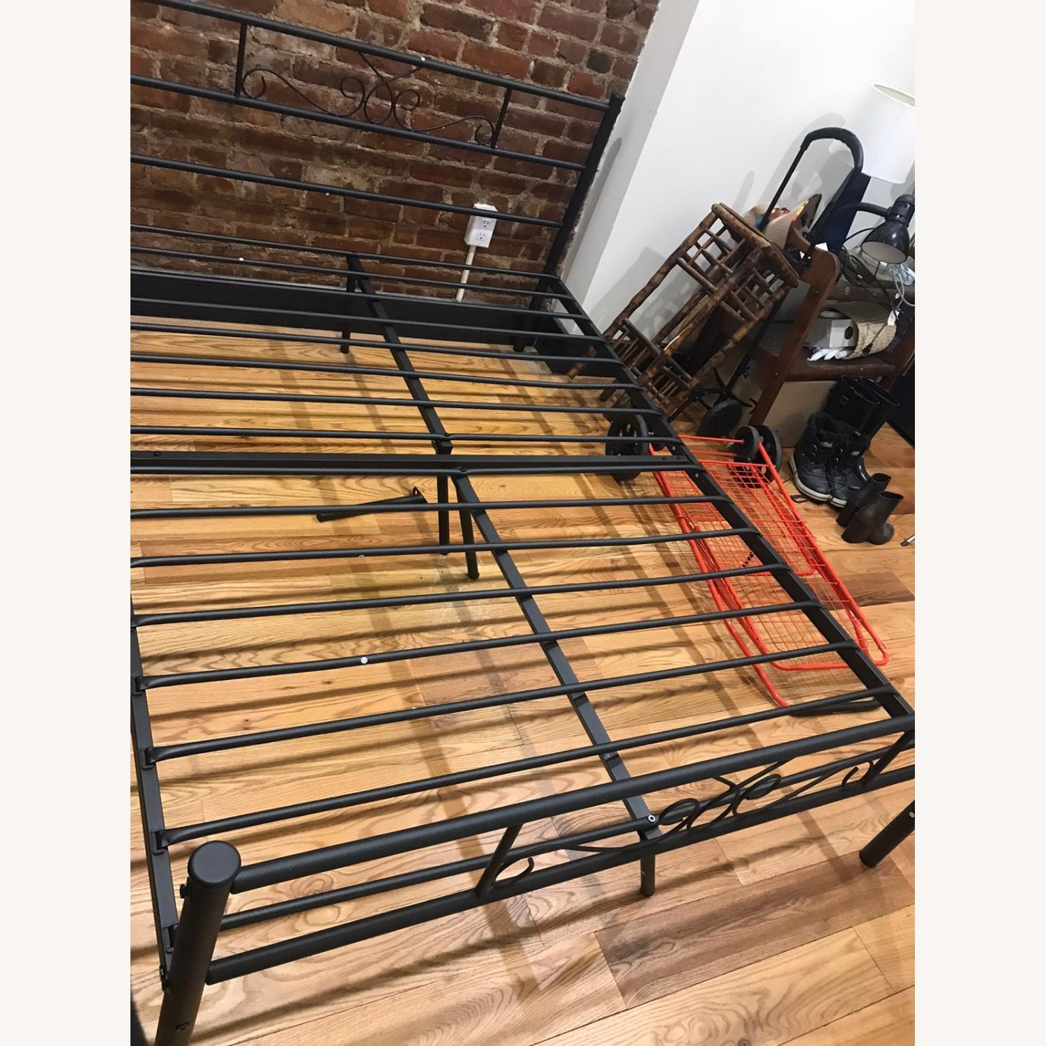 SimLife Full Size Metal Bed Frame - image-4