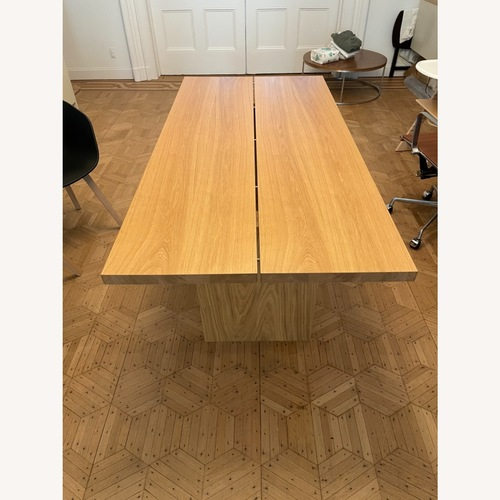 Used Design Within Reach Dining Table Solid Oak 73 for sale on AptDeco