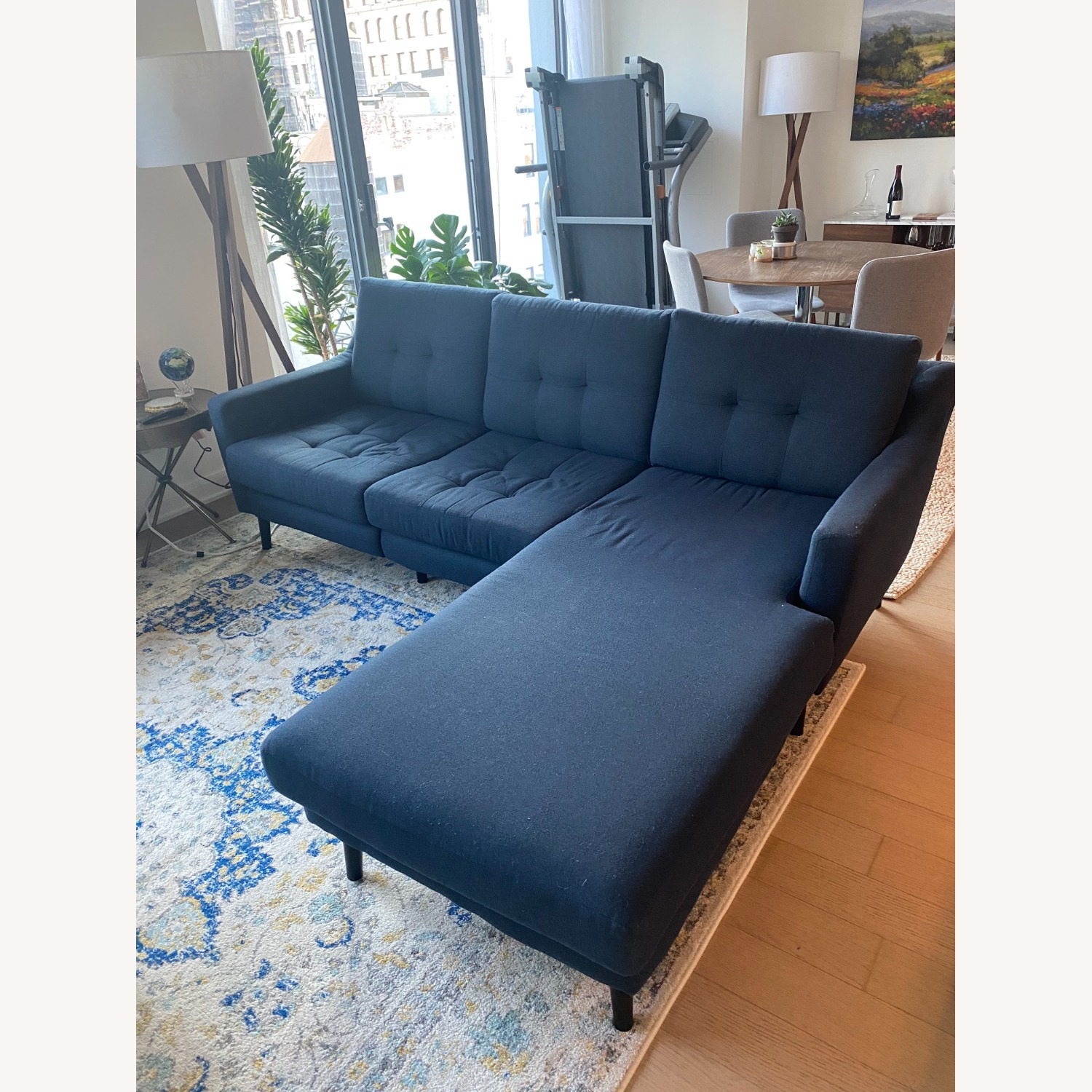 Burrow Sectional Chaise with Removal Chaise Piece - image-1
