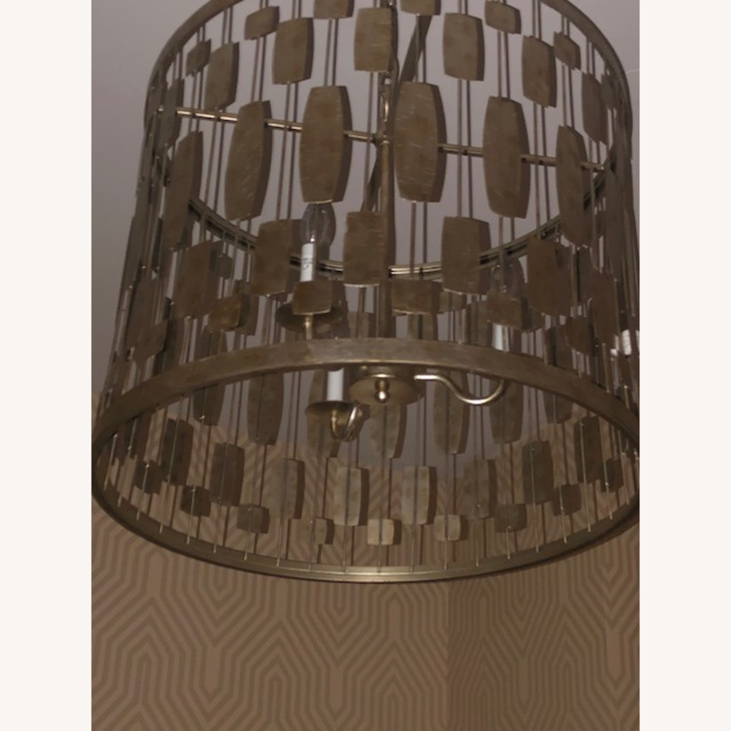 Gold Pendant Light - image-4