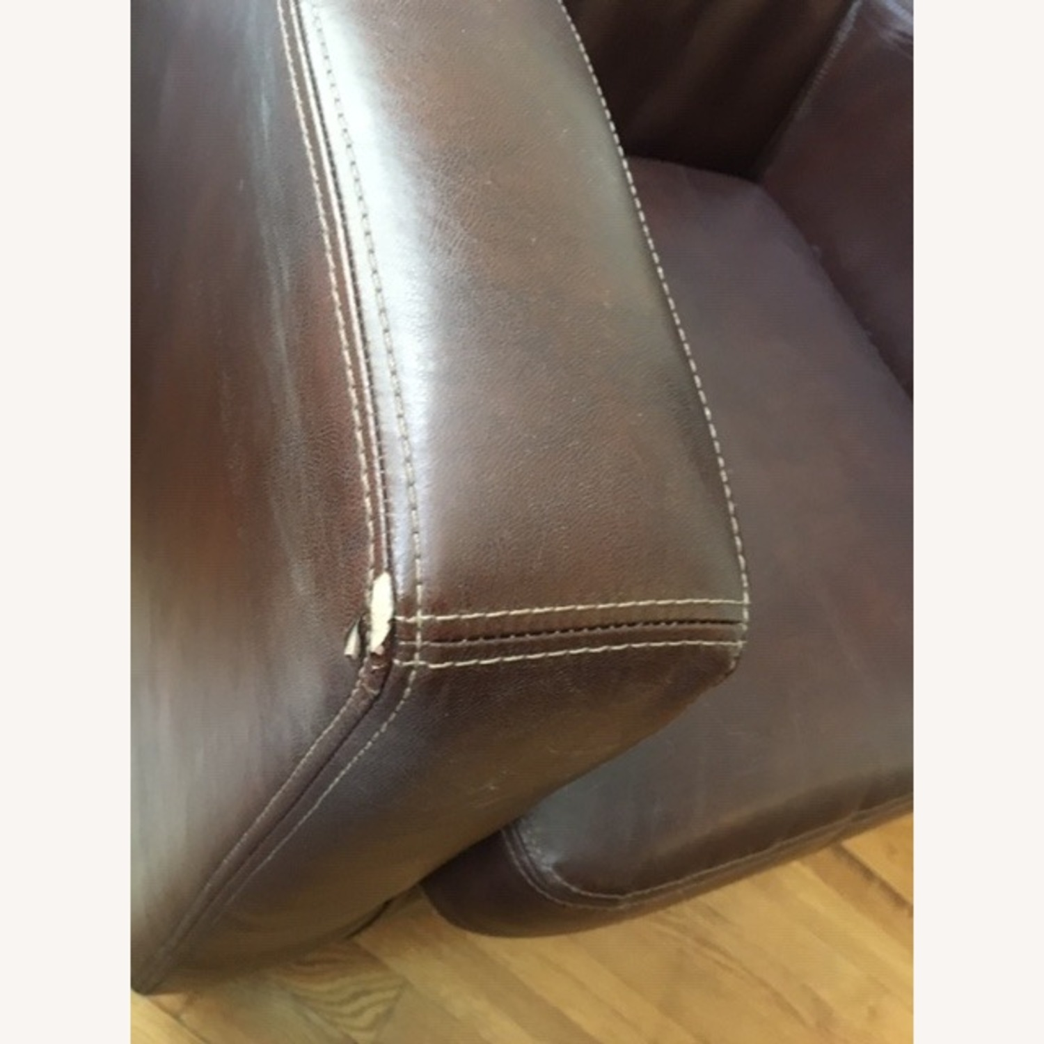 IKEA Faux-Leather Armchairs - image-2