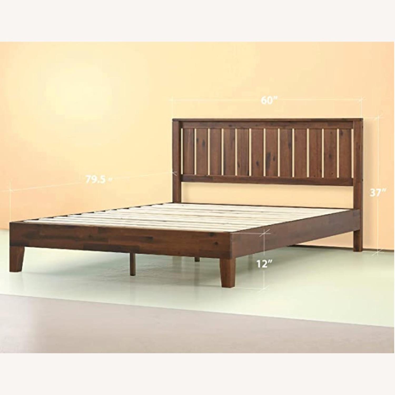 Solid Wood Platform Bed - image-3