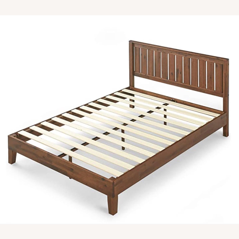 Solid Wood Platform Bed - image-2