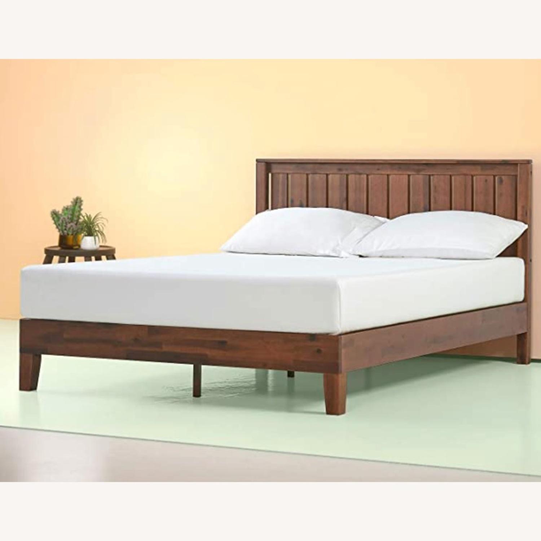 Solid Wood Platform Bed - image-1