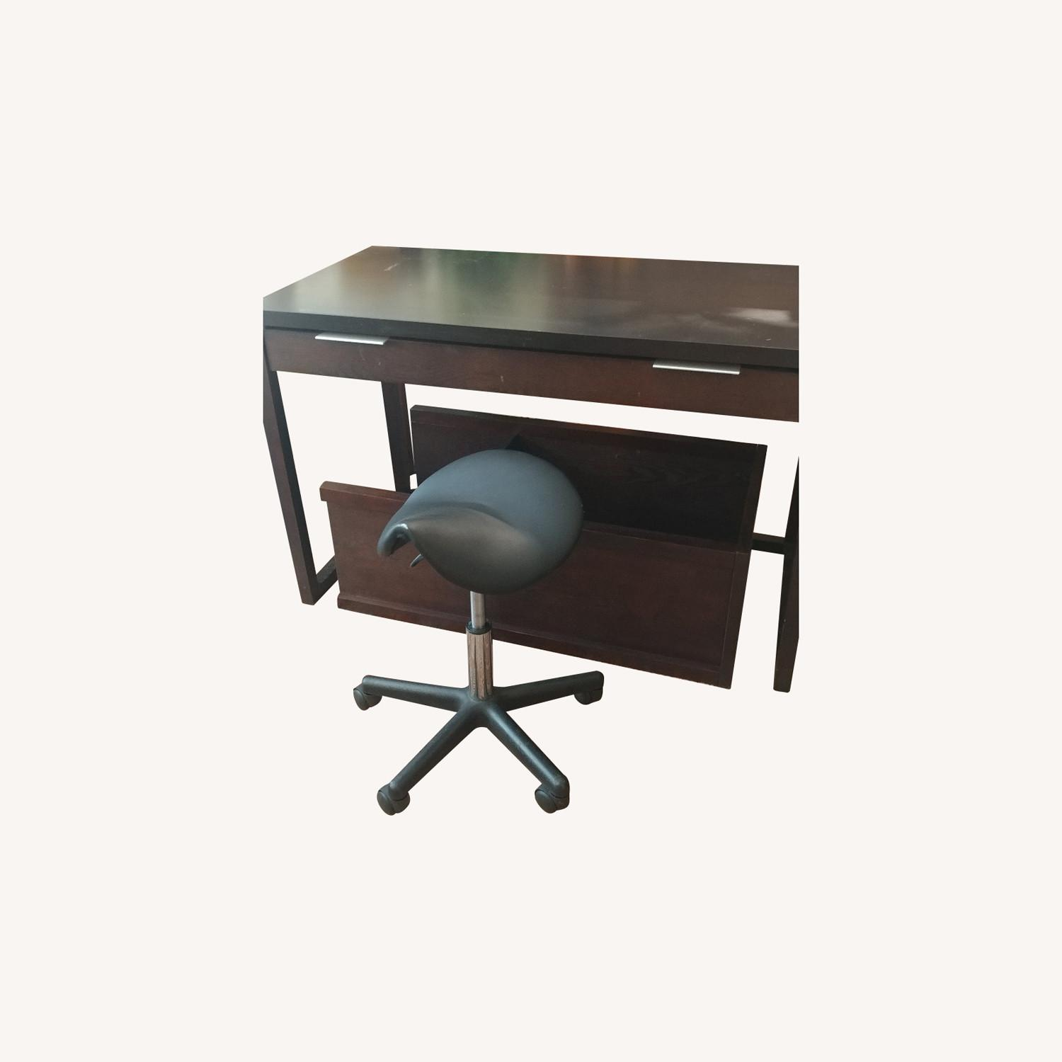 Modern Desk and Chair - image-0