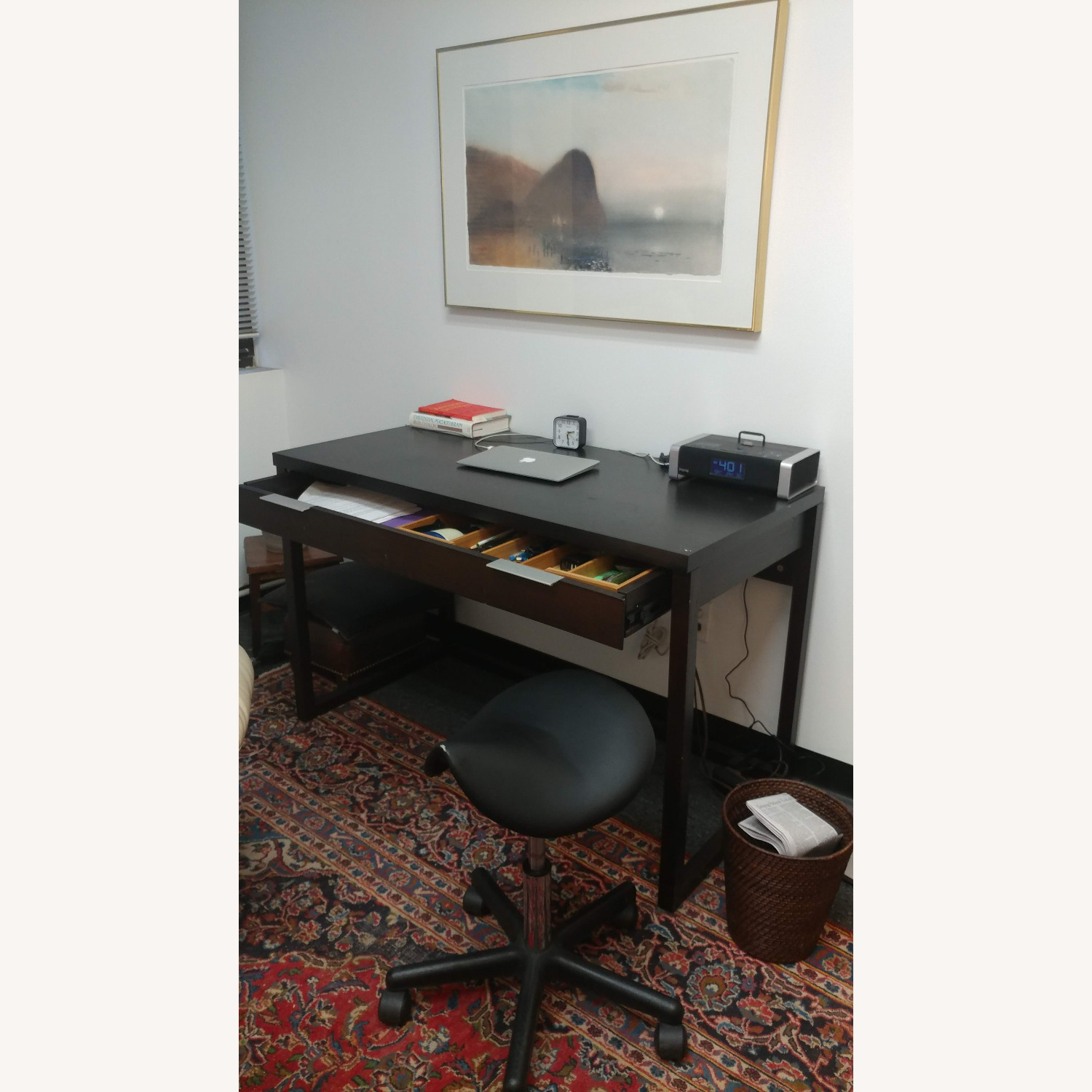 Modern Desk and Chair - image-1