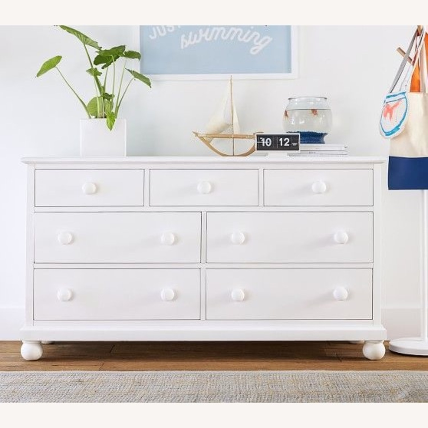 Pottery Barn Catalina Extra-Wide Kids Dresser - image-1