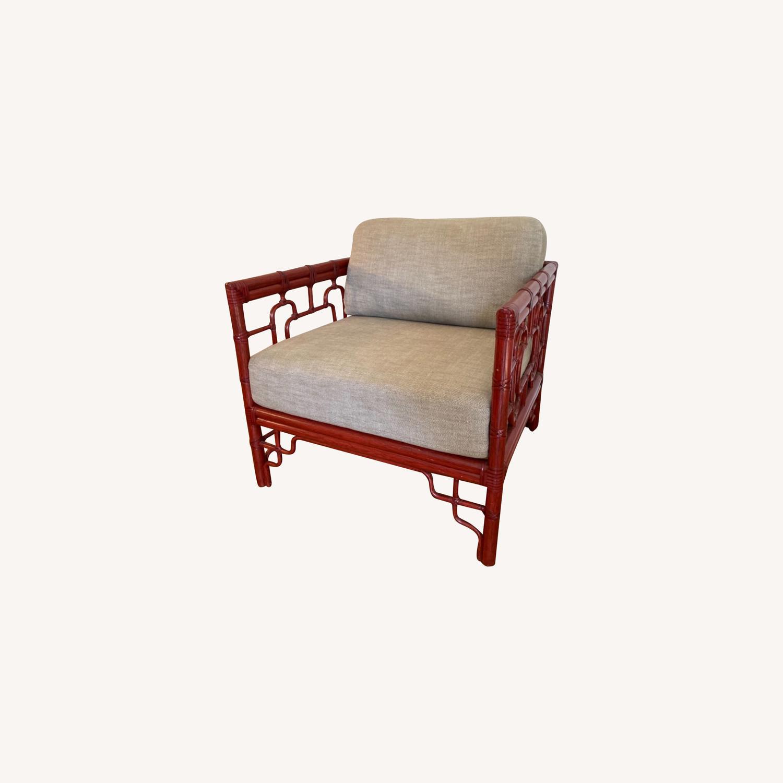 McGuire Bamboo Armchair - image-0