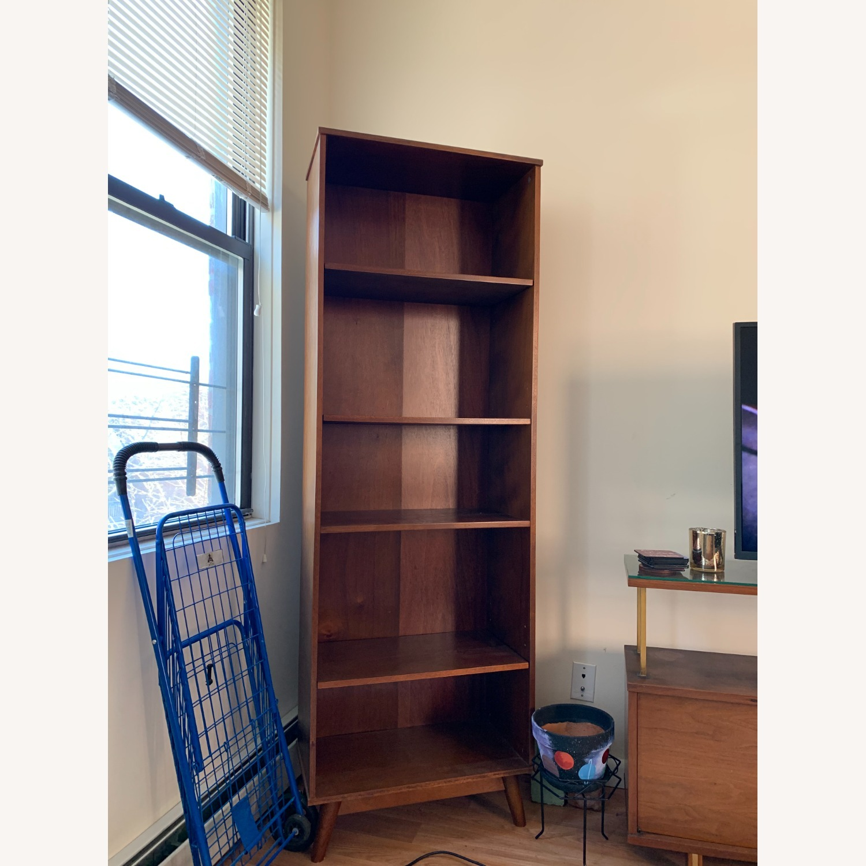 Target Amherst Mid Century Modern 5-Shelf Bookcase - image-1