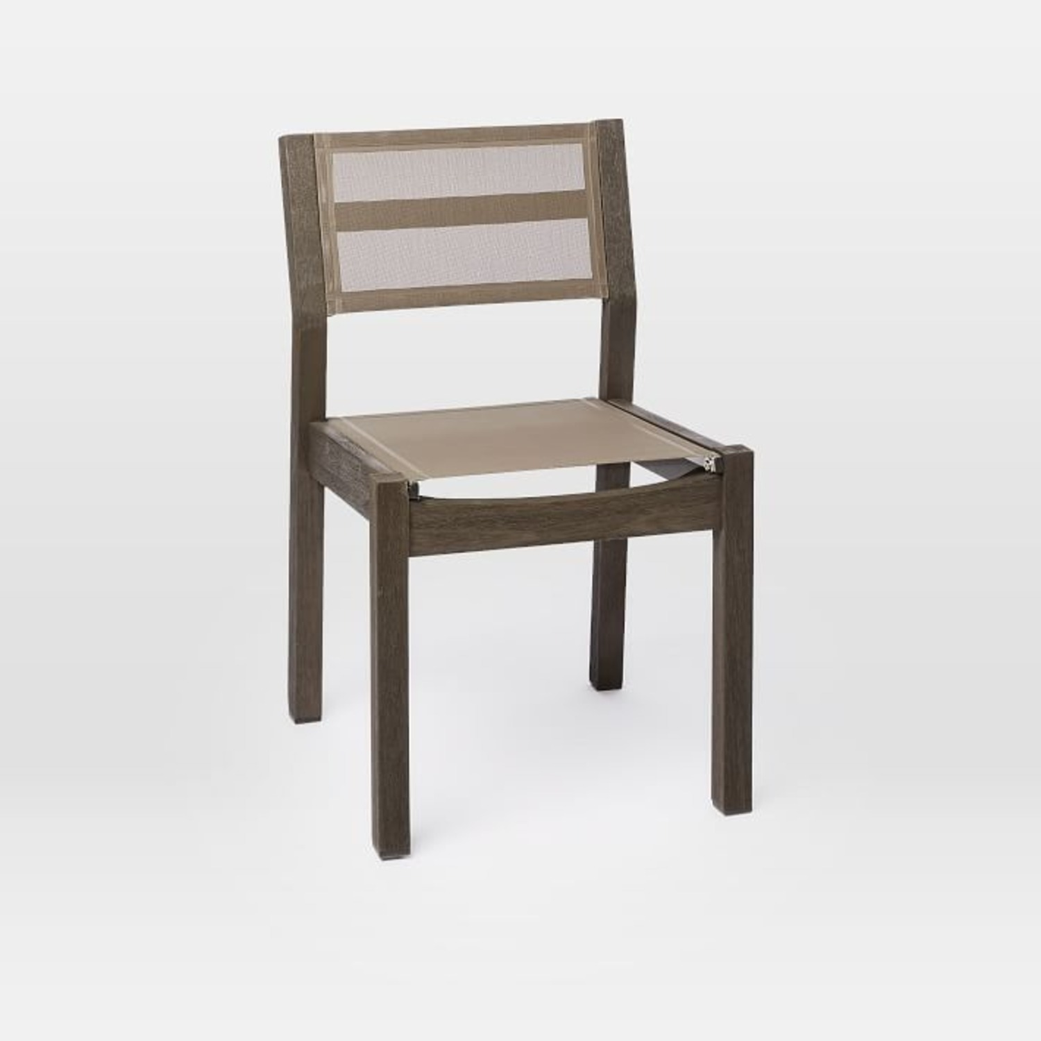 West Elm Portside Textiline Chair, Weathered Cafe - image-2