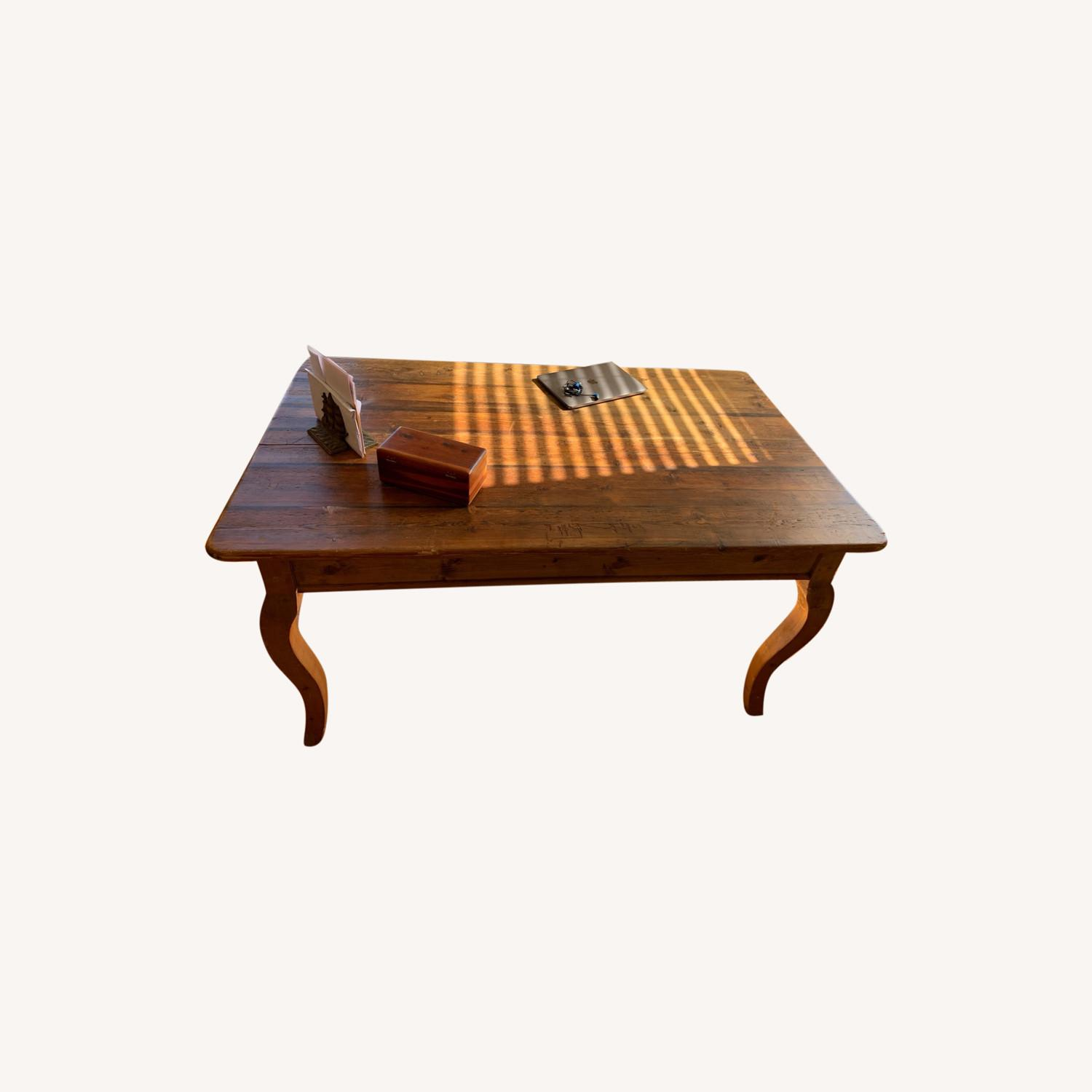 Solid wood French Farm Table (small) - image-0