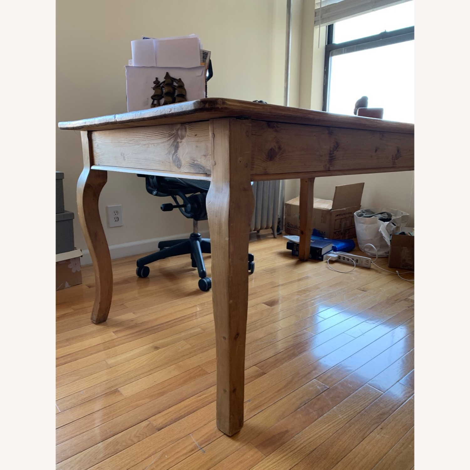 Solid wood French Farm Table (small) - image-3