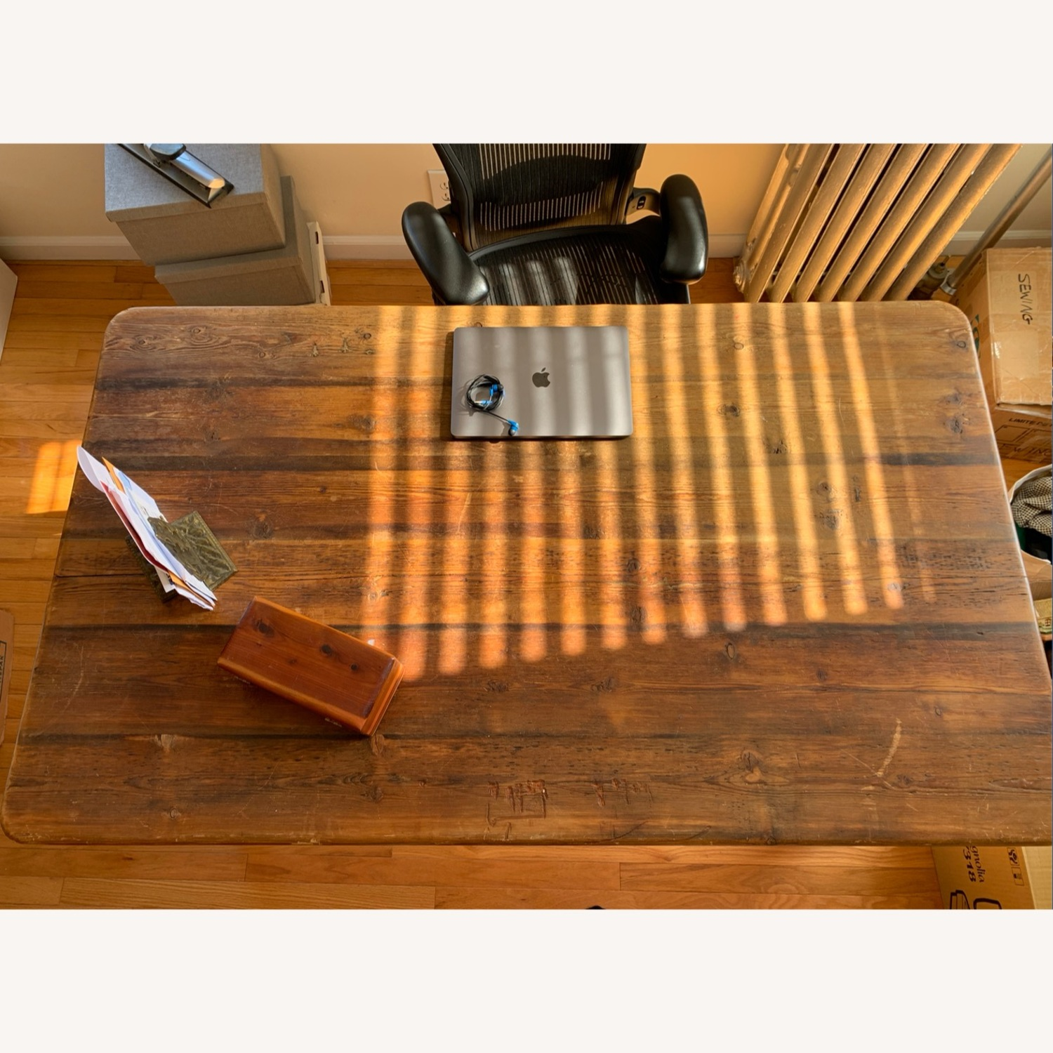 Solid wood French Farm Table (small) - image-4