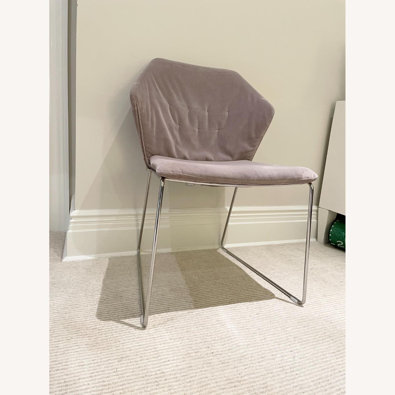 ABC Home Velvet Accent Chair - image-3