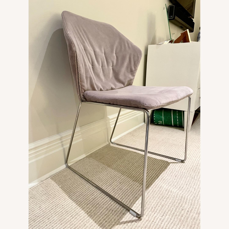 ABC Home Velvet Accent Chair - image-2