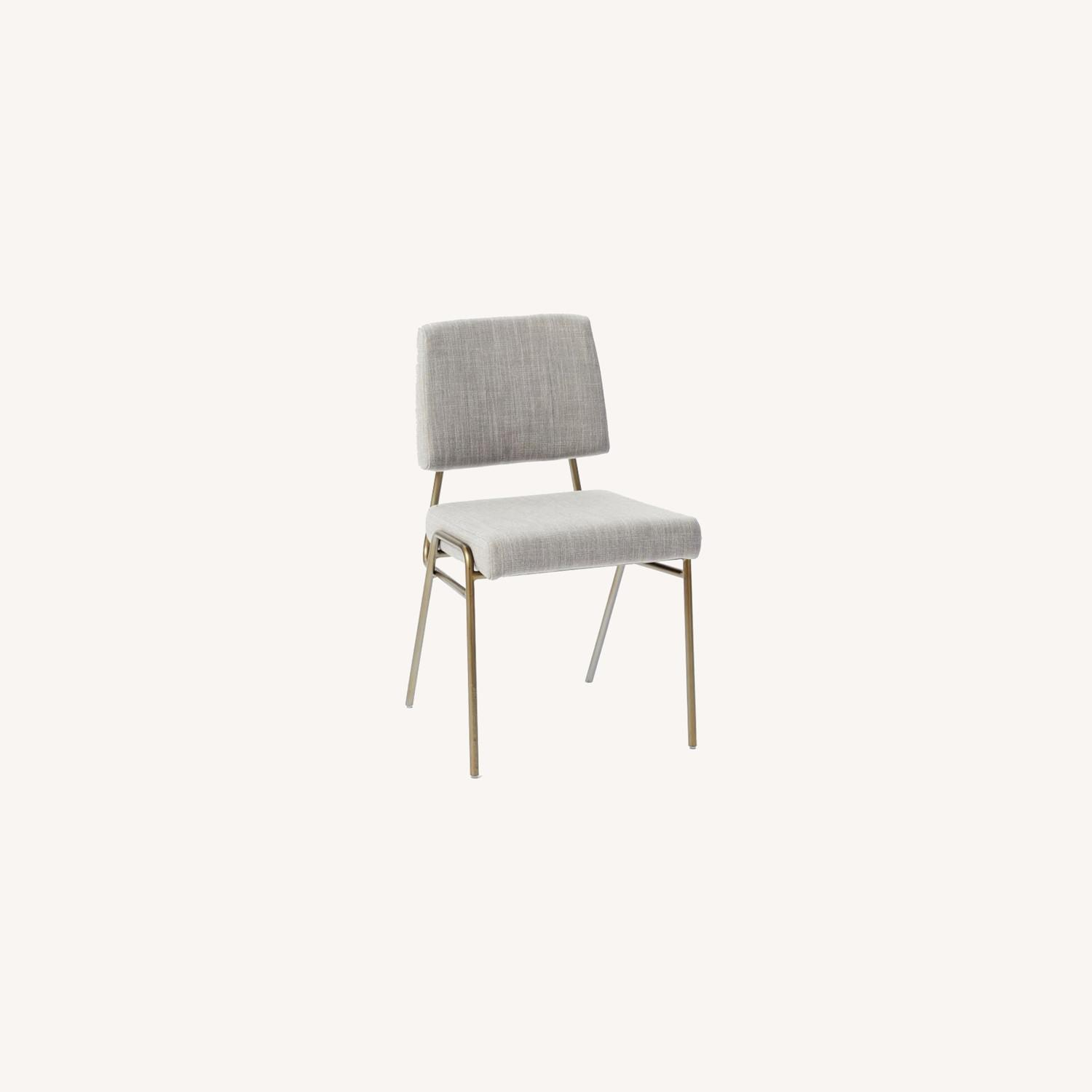 West Elm Wire Frame Side Chair - image-0