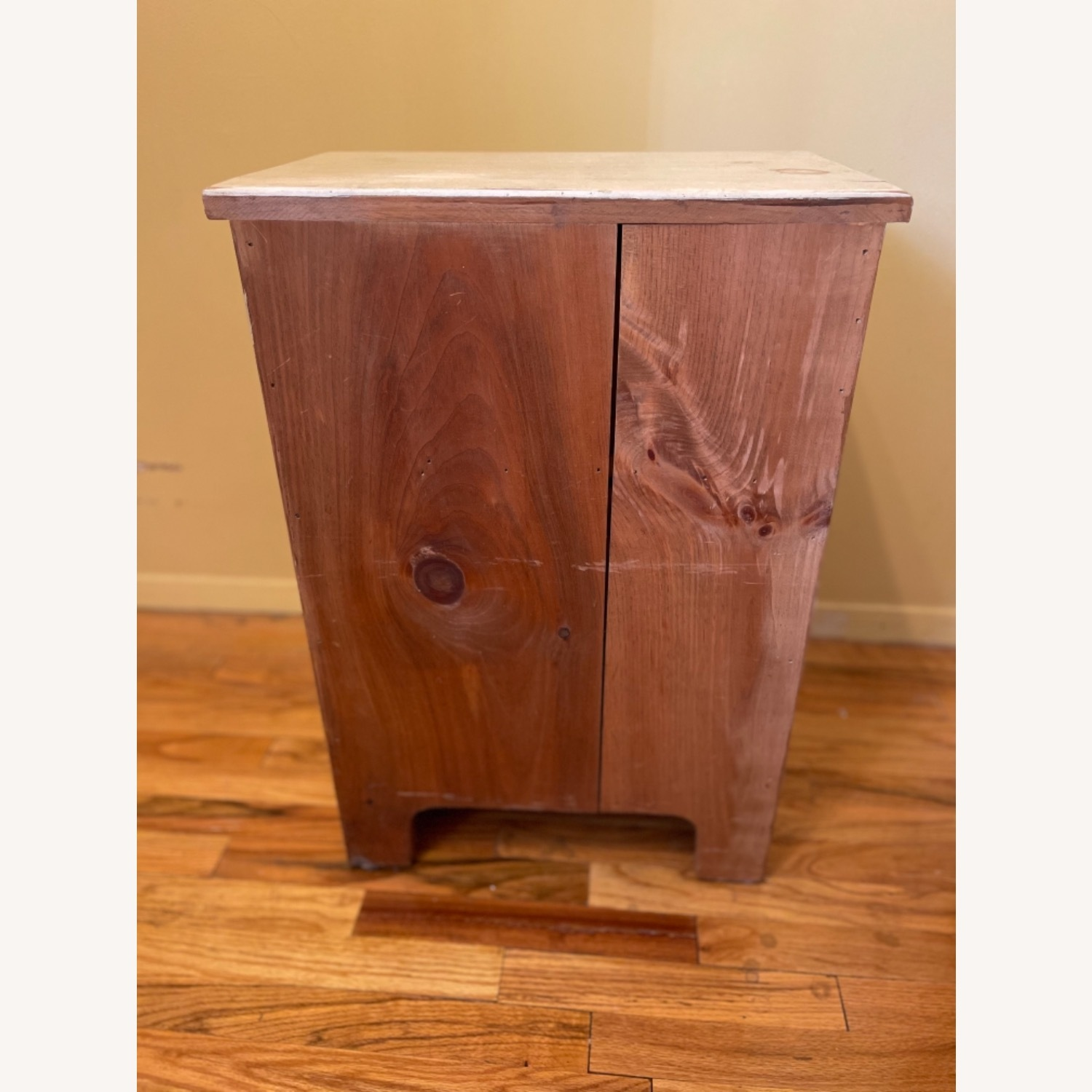4 Drawer Custom Designed Hand Painted Side Table - image-5