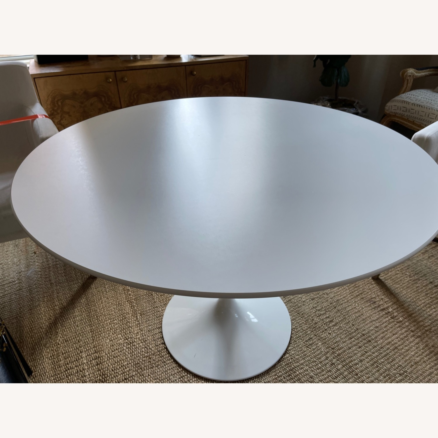 Knoll White Dining Table - image-3