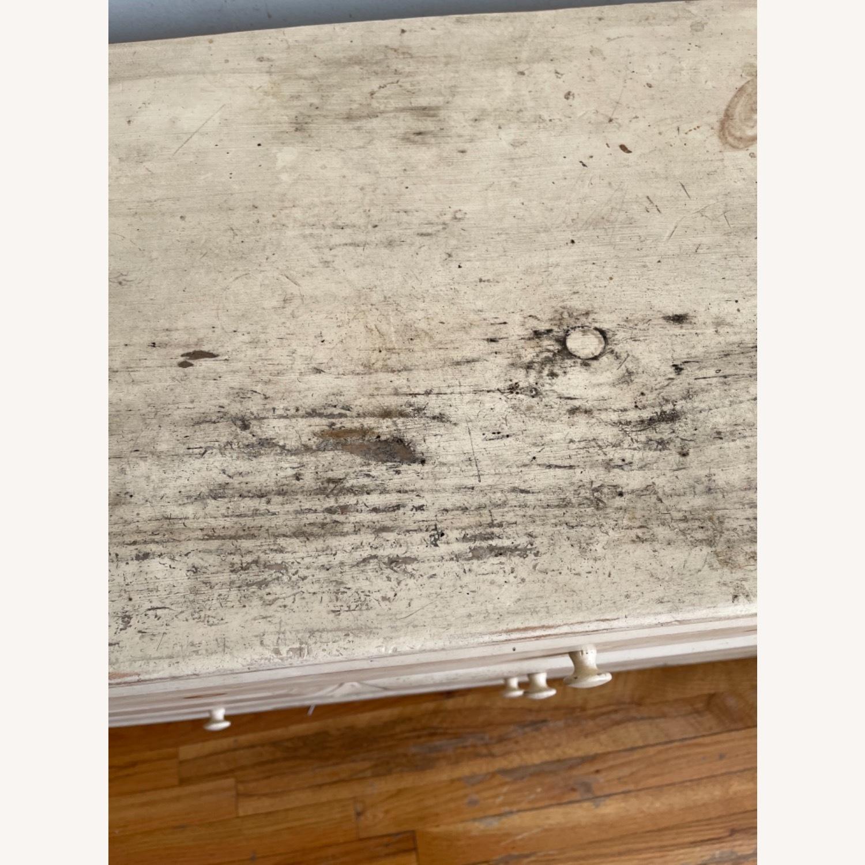 Distressed Solid Pine 7 Drawer Dresser - image-6