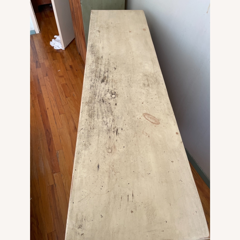 Distressed Solid Pine 7 Drawer Dresser - image-5