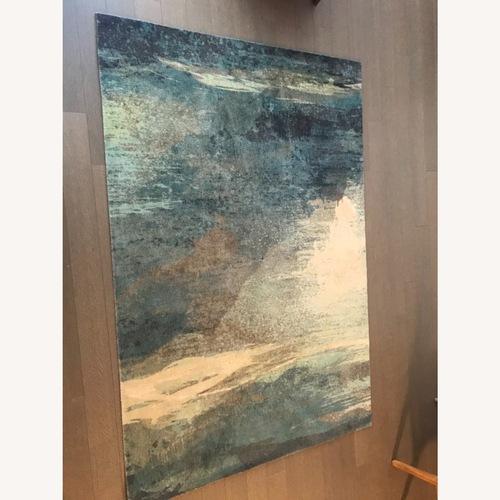Used Blue Surya Area Rug for sale on AptDeco