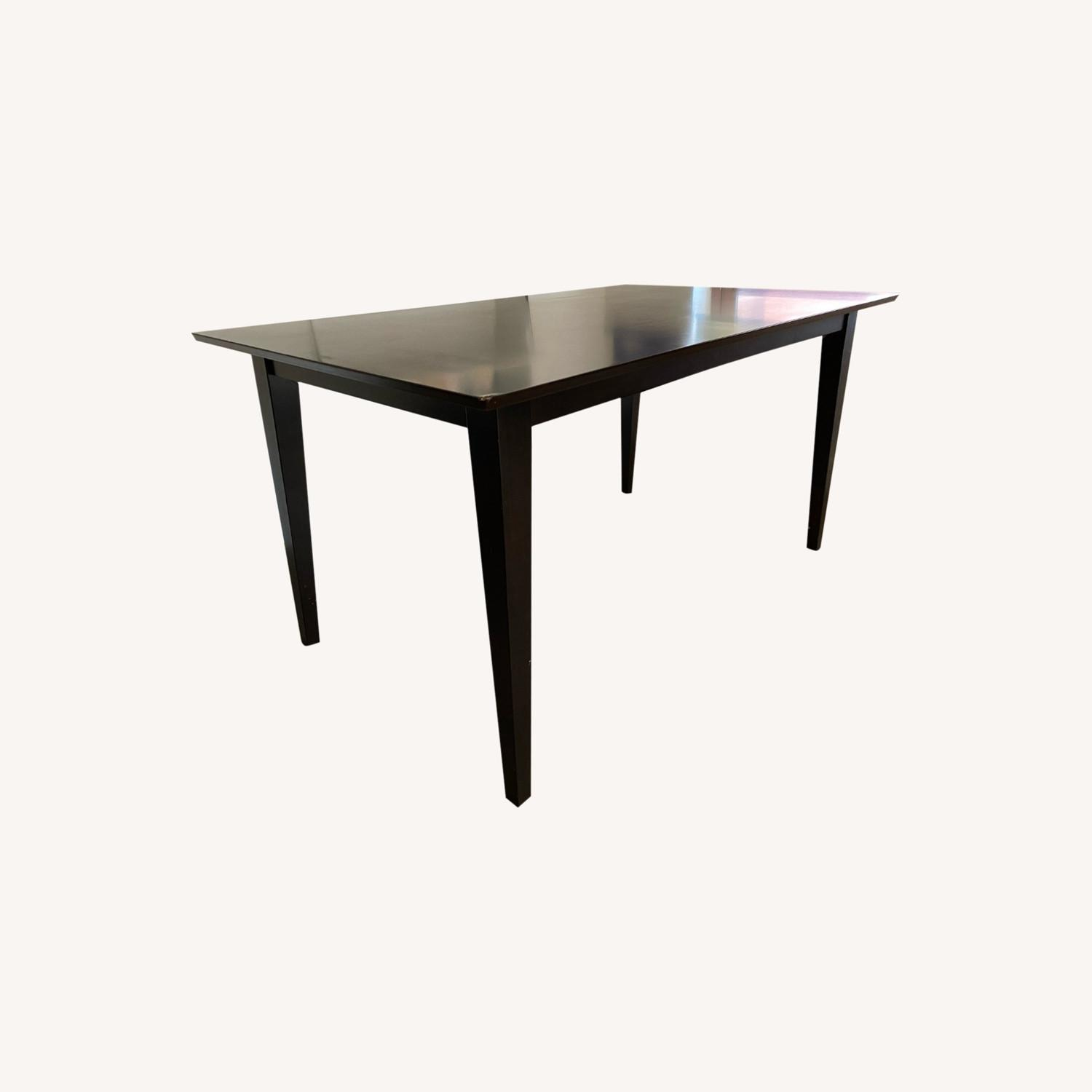 "Coaster Fine Furniture Dark Brown 59"" Dining Table - image-0"