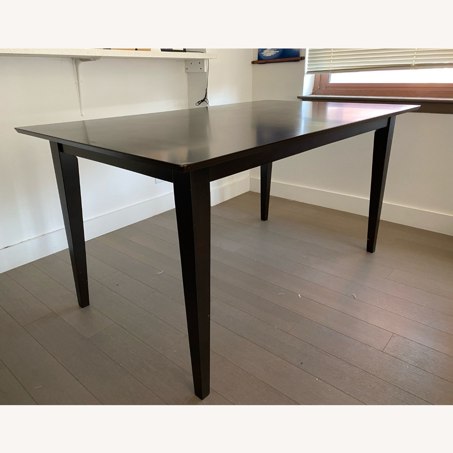 "Coaster Fine Furniture Dark Brown 59"" Dining Table - image-4"