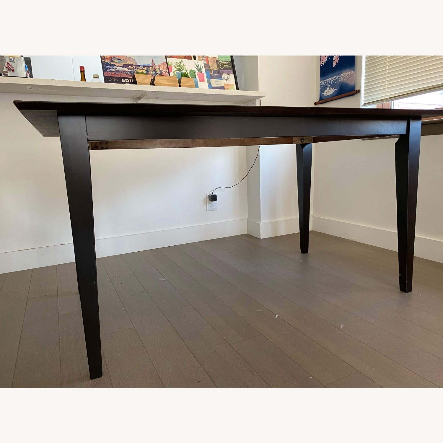 "Coaster Fine Furniture Dark Brown 59"" Dining Table - image-2"