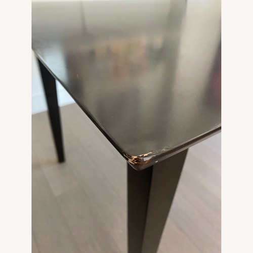 "Used Coaster Fine Furniture Dark Brown 59"" Dining Table for sale on AptDeco"