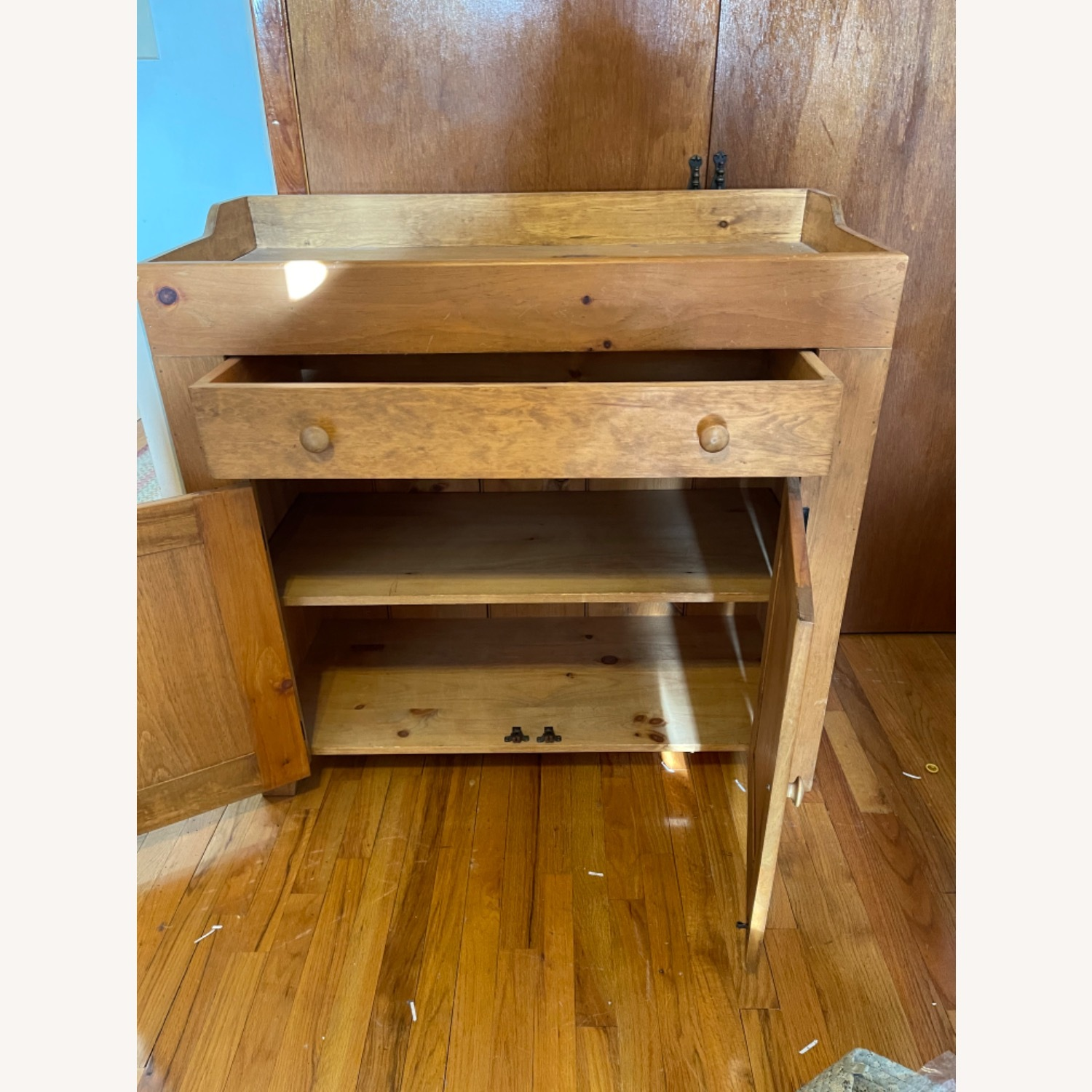 Solid Pine Distressed Changing Table - image-3