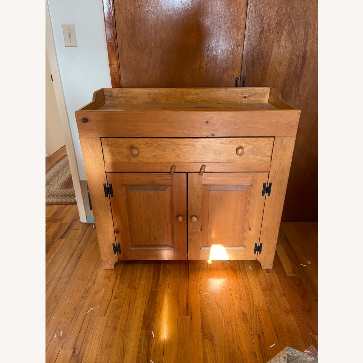Solid Pine Distressed Changing Table - image-1