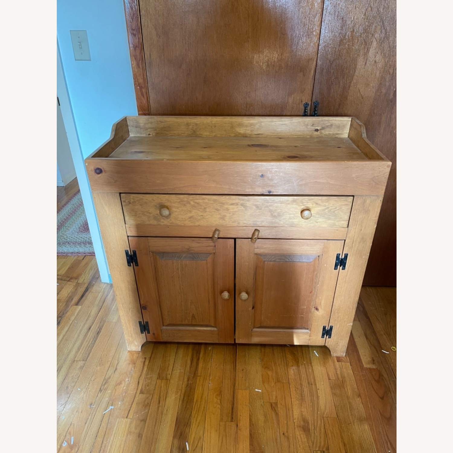 Solid Pine Distressed Changing Table - image-2
