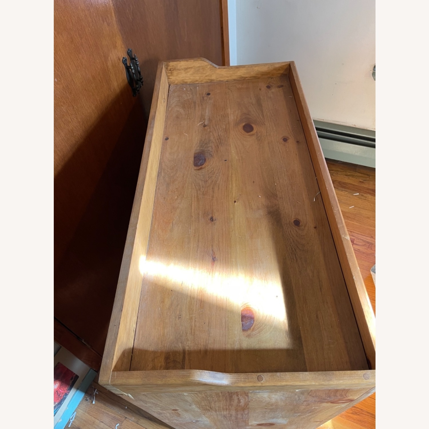 Solid Pine Distressed Changing Table - image-4