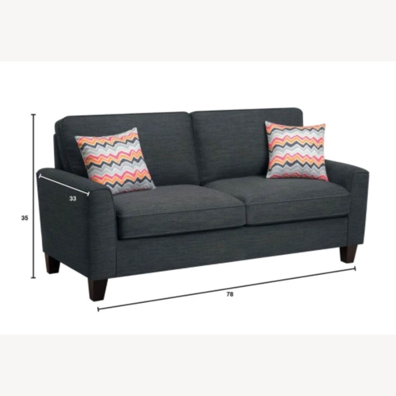 Serta Astoria Deep Sofa 78-inch Sofa - image-1
