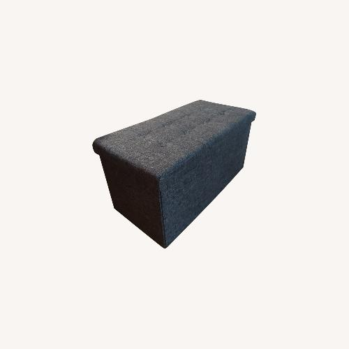 Used Seville Classics Storage Ottoman, Collapsible for sale on AptDeco