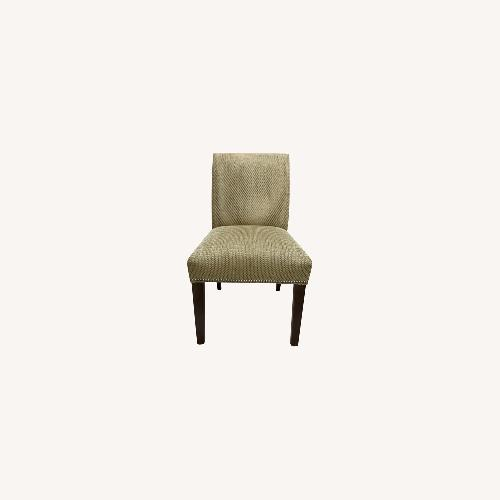 Used Ethan Allen Pair of Sebago Dining Chairs for sale on AptDeco